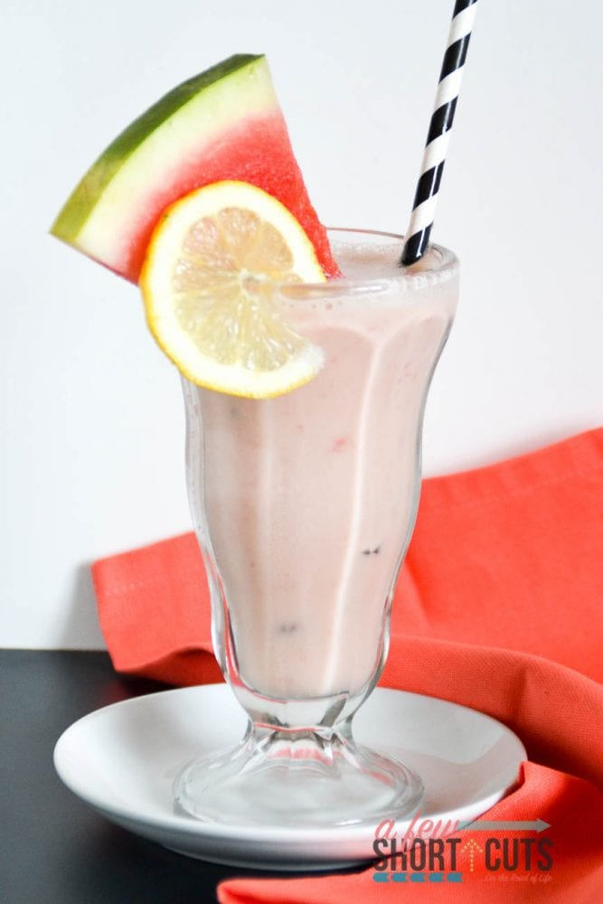 Have you seen the Frosted Lemonade at Chick-Fil-A? Yum! Try this Watermelon Frosted Lemonade Recipe that is even better than the original. Plus you can make it dairy free too!