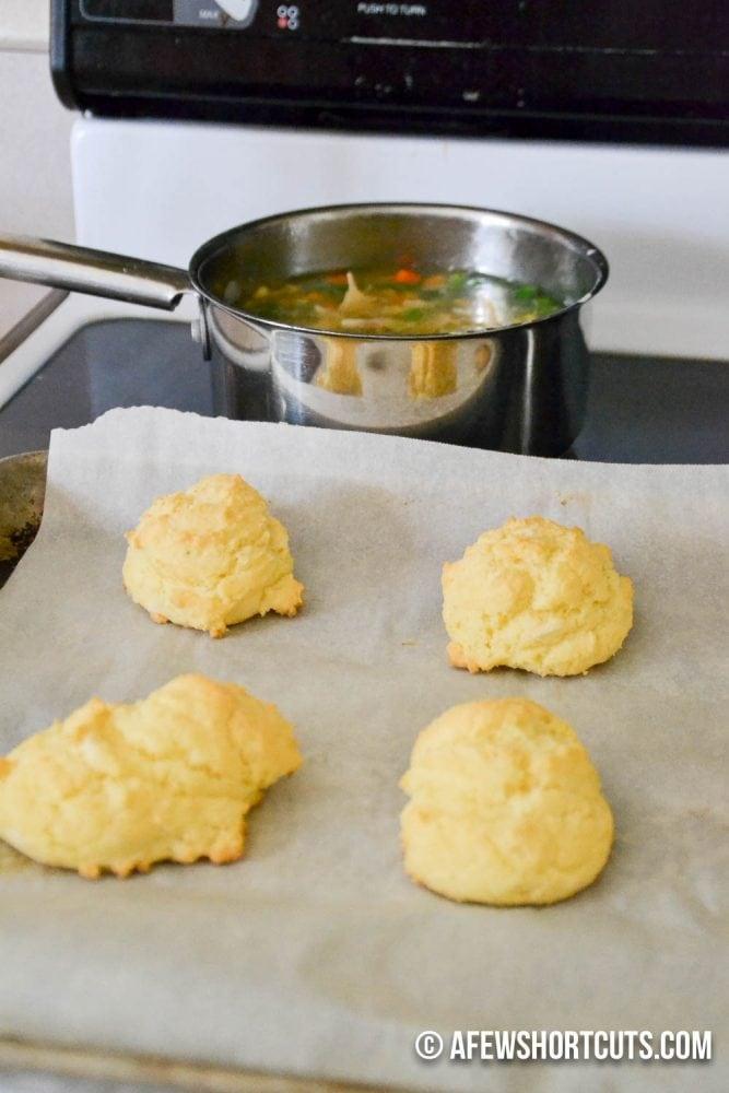 Gluten Free Chicken Pot Pie Bowl-6