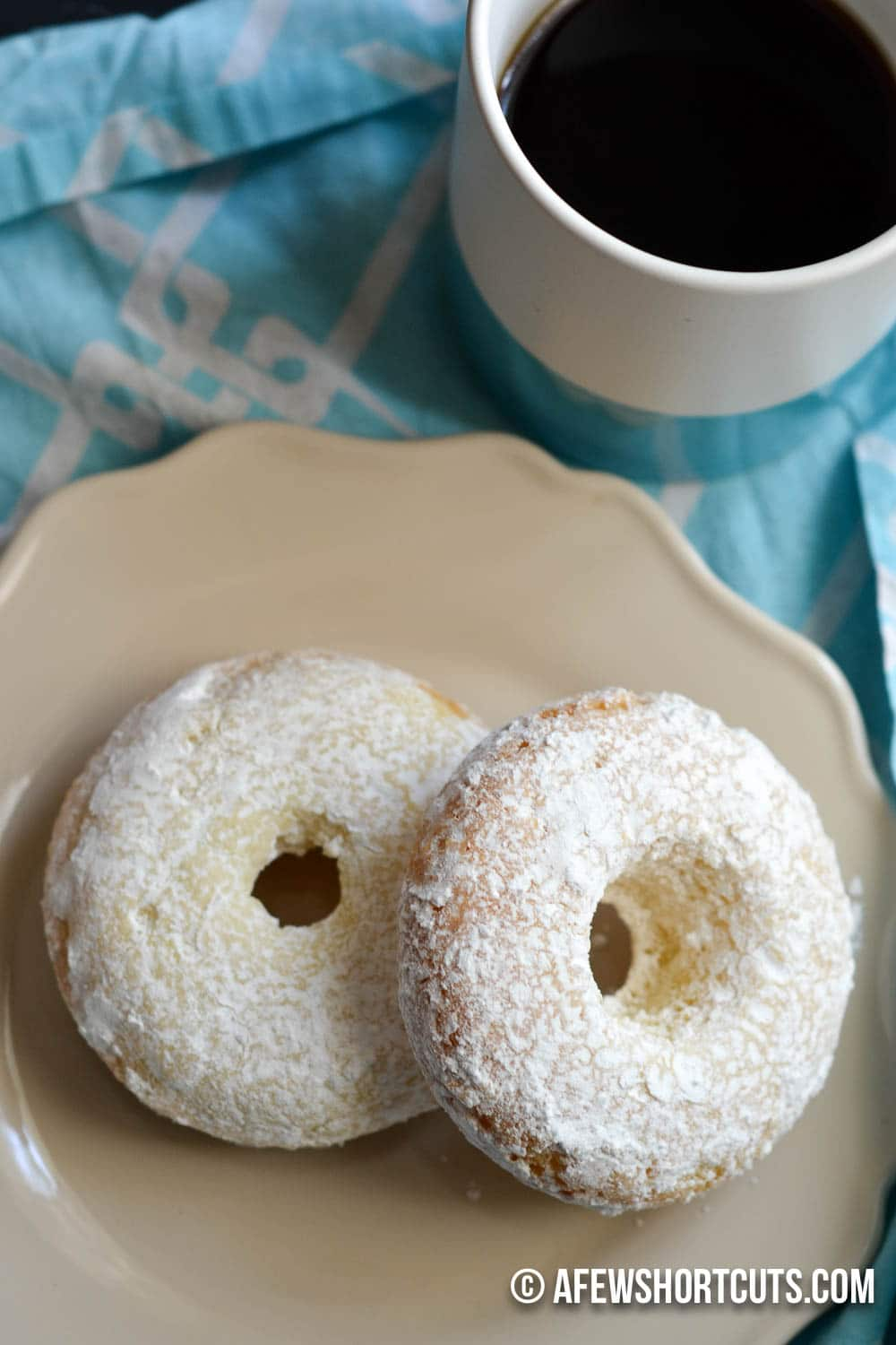 Gluten Free Powdered Sugar Doughnuts Recipe. Can be made dairy free ...