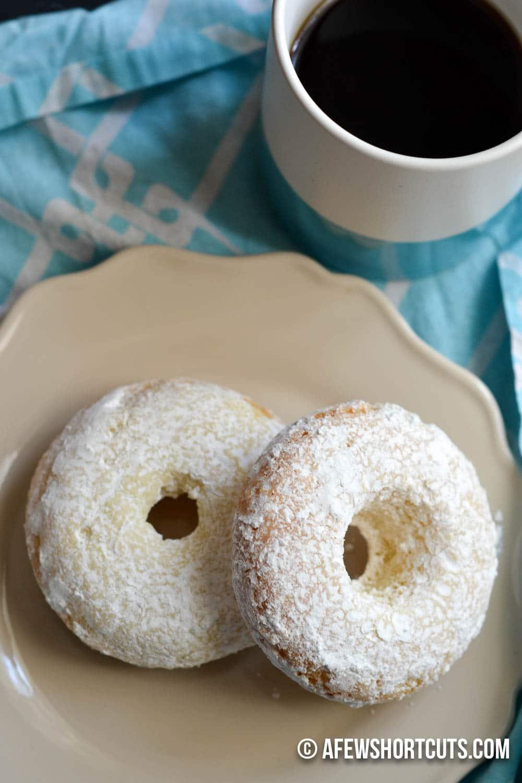 ... Gluten Free Powdered Sugar Doughnuts Recipe. Can be made dairy free