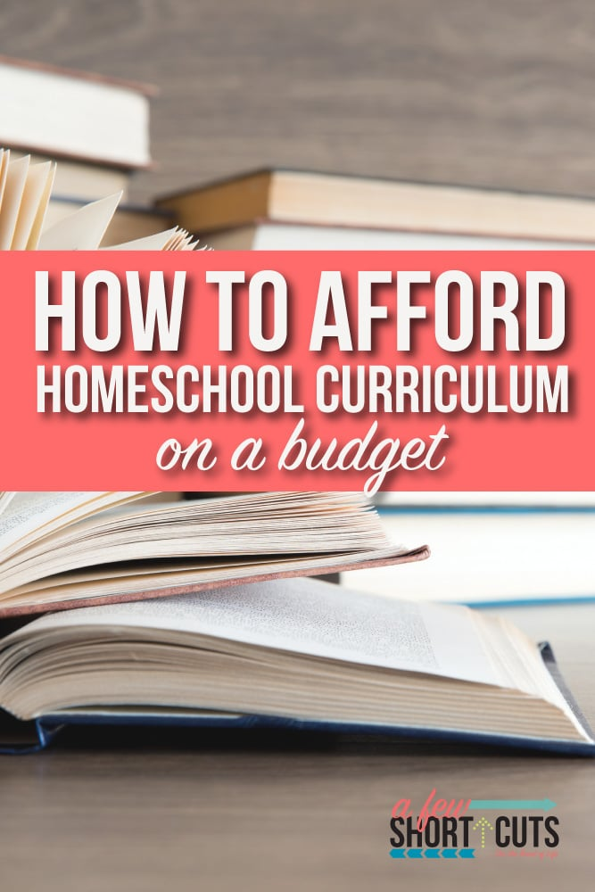 Homeschooling can be expensive unless you know a few tricks. Learn how to afford homeschool curriculum on a budget.