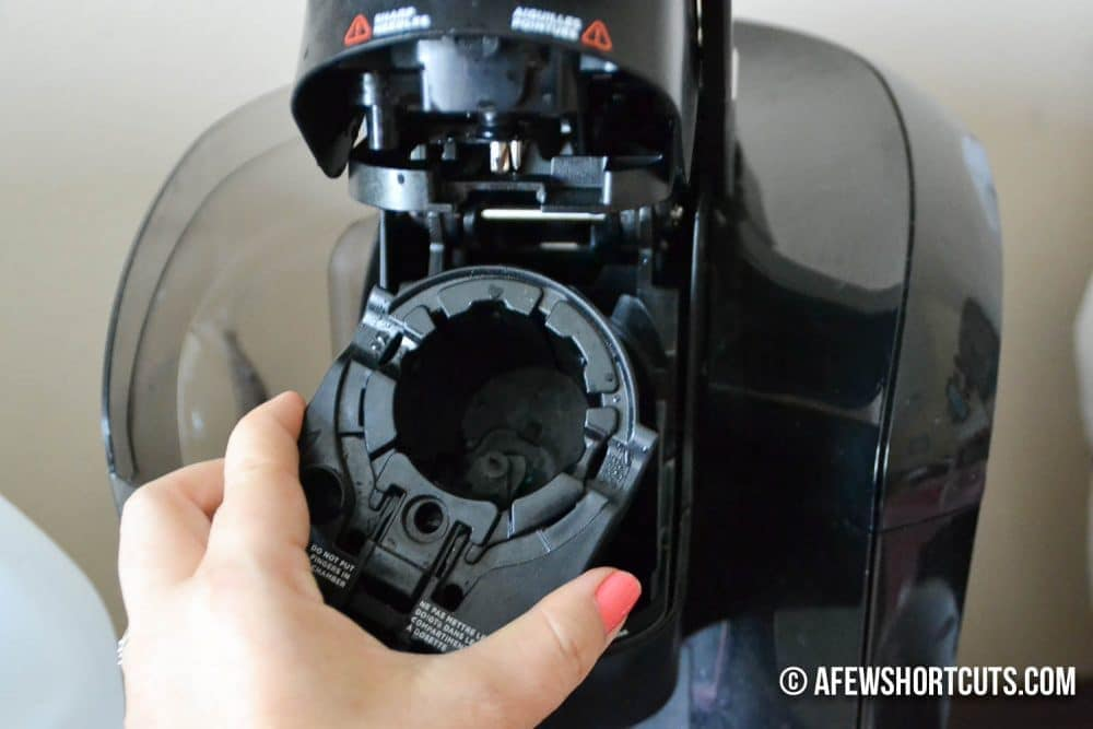 cleaning out keurig machine