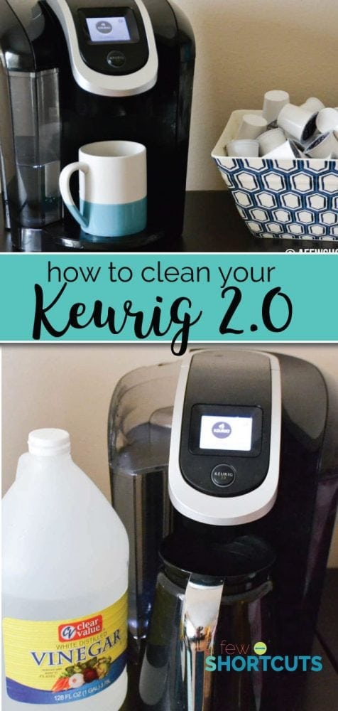 Does your Keurig 2.0 need descaling? Is it brewing slowly, or not acting right? Learn How to Clean Your Keurig 2.0 in a few easy steps.