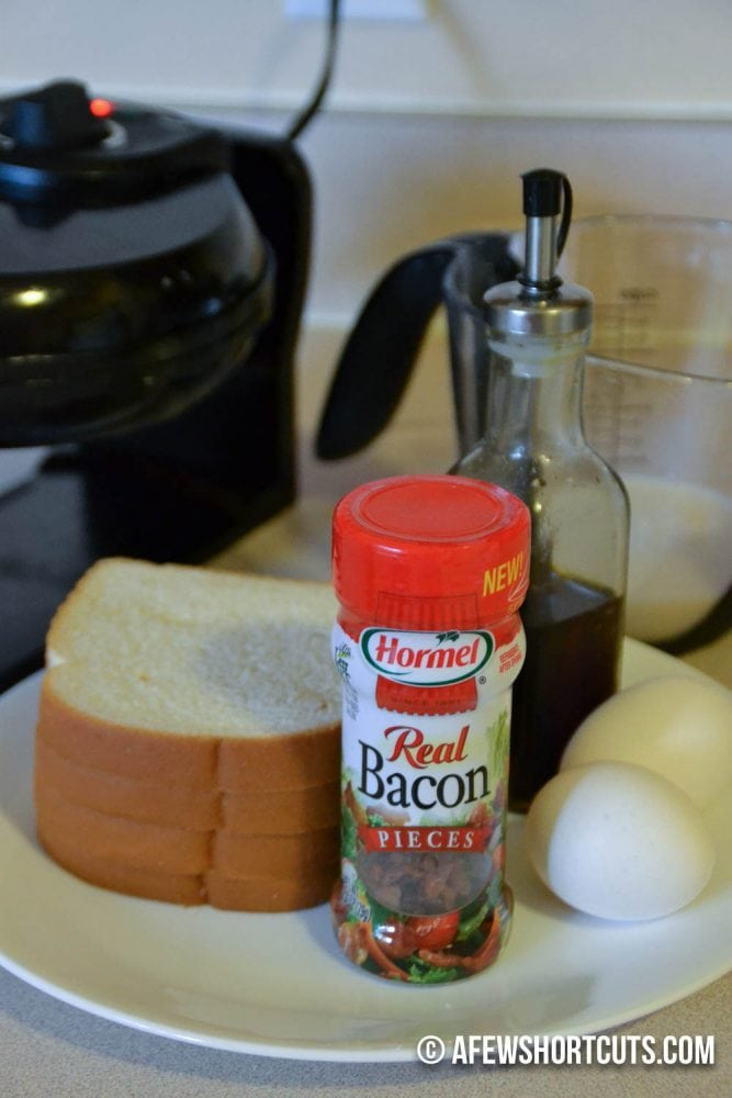 Bacon Stuffed French Toast Waffles-1