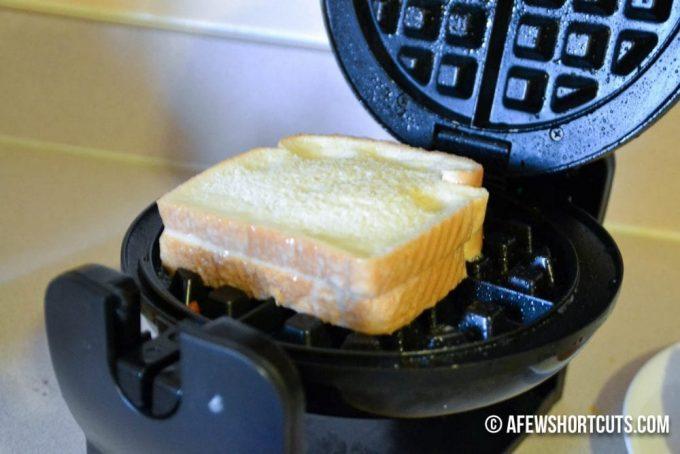 Bacon Stuffed French Toast Waffles-4