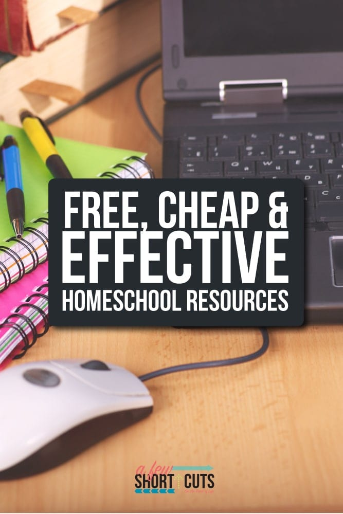 Here is a list of Free, Cheap, and Effective Homeschool resources that I use daily and find extremely helpful. Great for all educators to check out!
