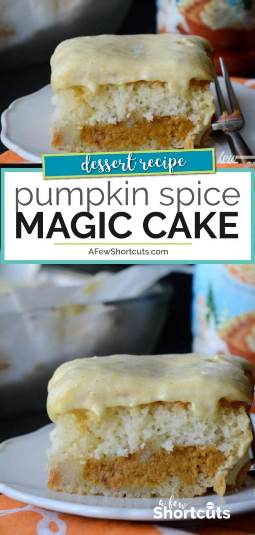 Pumpkin Spice Magic Cake Recipe