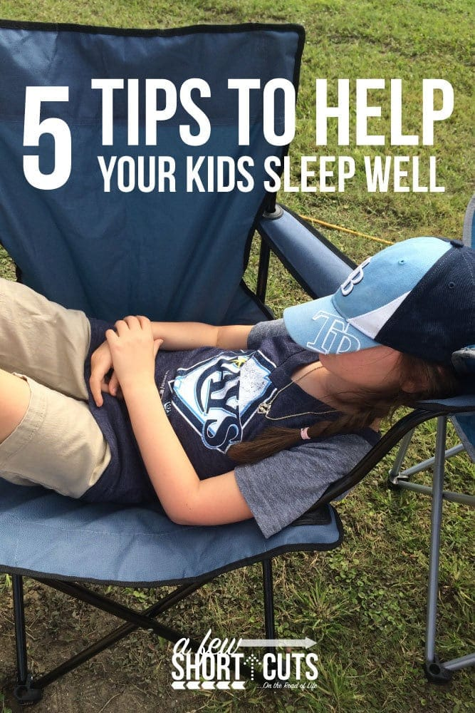 5 Tips to Help Your Kids Sleep Well #StopTheStall #ad