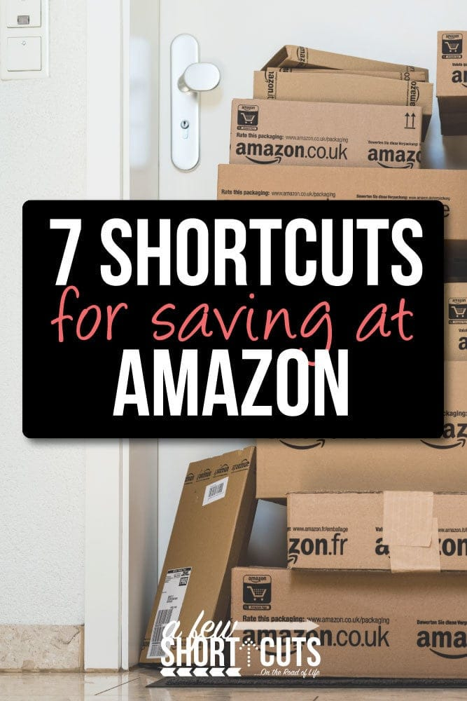 Stretch your budget year round with these 7 Shortcuts for saving at Amazon.
