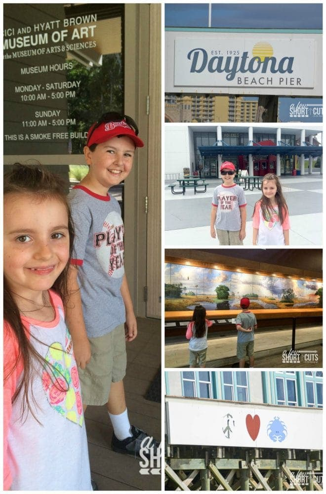 Looking for a family friendly year round travel destination! Check out these Family Friendly Things to Do in Daytona Beach Florida!