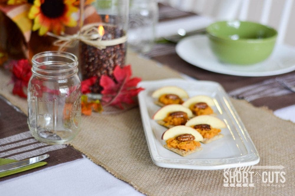 Thanksgiving is full of tradition, family time, and delectablefood. This Apple & Sweet Potato Mash Topper Recipe is a perfect appetizer!
