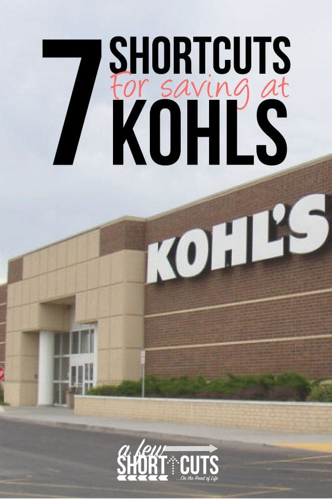 Do you love to shop at Kohls?! Check out these 7 ShortCuts for Saving at Kohls! Snag some great items and deals for even less!