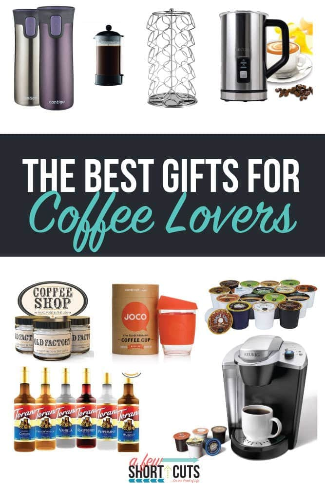 Need a present for the coffee drinker in your life? Check out The Best Gifts for Coffee Lovers