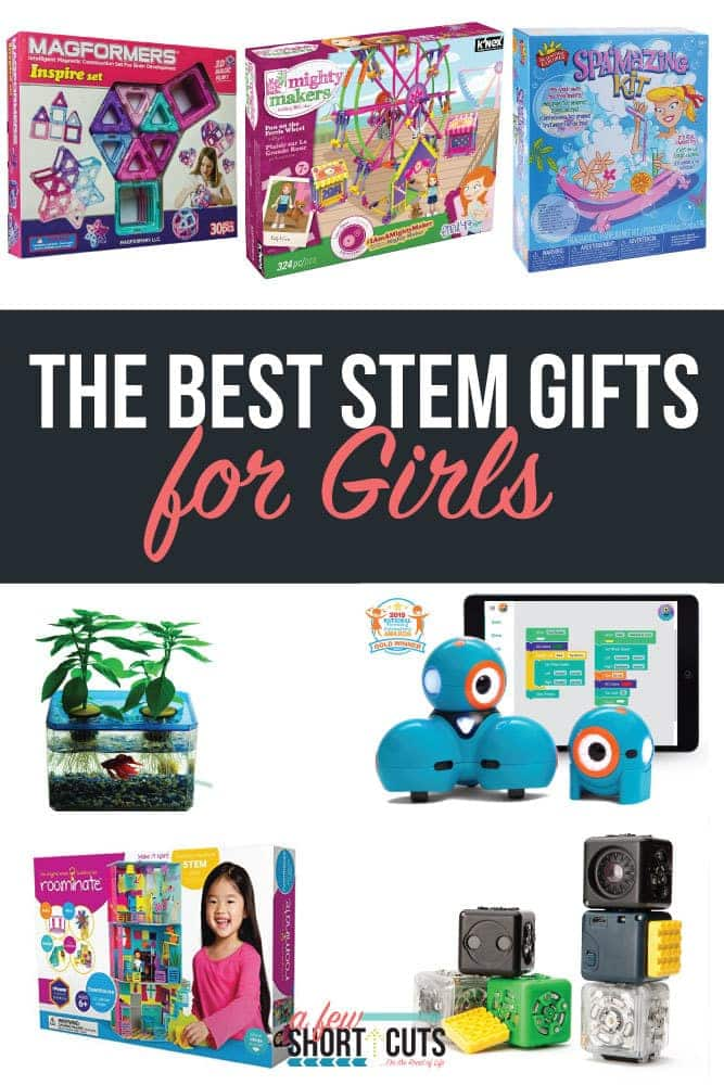 Do you have a little girl in your life that love science and technology? Check out the best STEM Gifts for Girls!