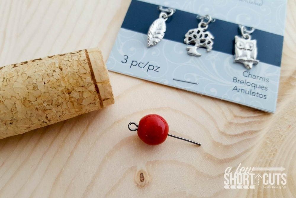 diy wine cork key chains a few shortcuts. Black Bedroom Furniture Sets. Home Design Ideas