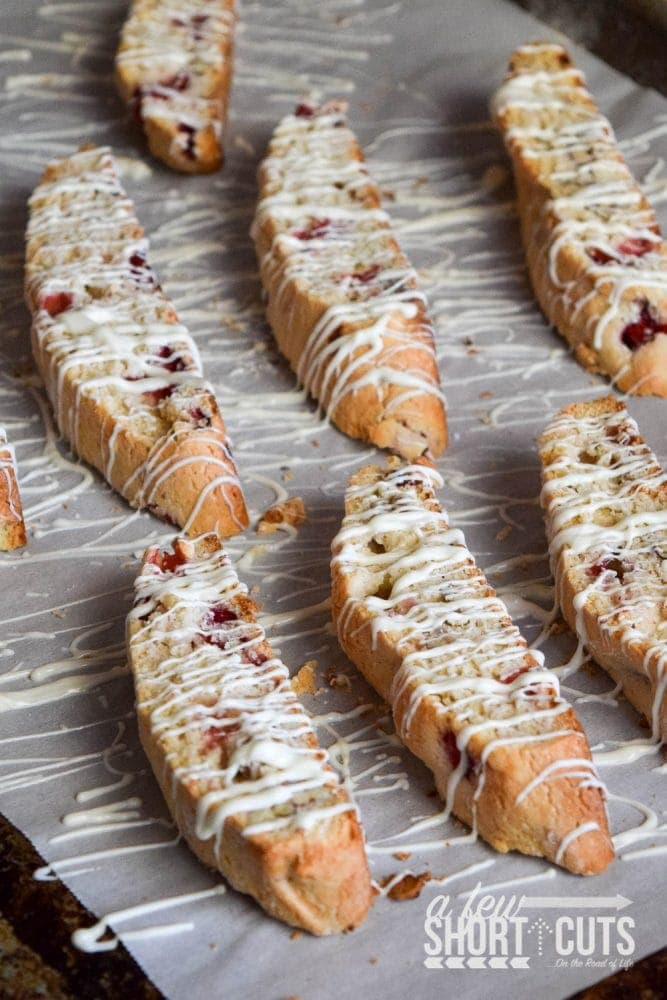 Homemade biscotti are amazing! Especially this simple Strawberry Pecan Biscotti Recipe. It is one of a kind and full of flavor. Great for a cup of coffee and to give as gifts