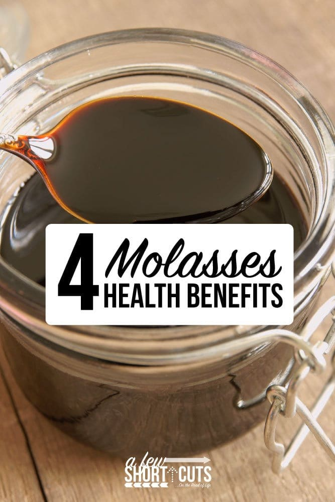 I bet you didn't know that Molasses can benefit your health! Check out this list of 4 Molasses Health Benefits