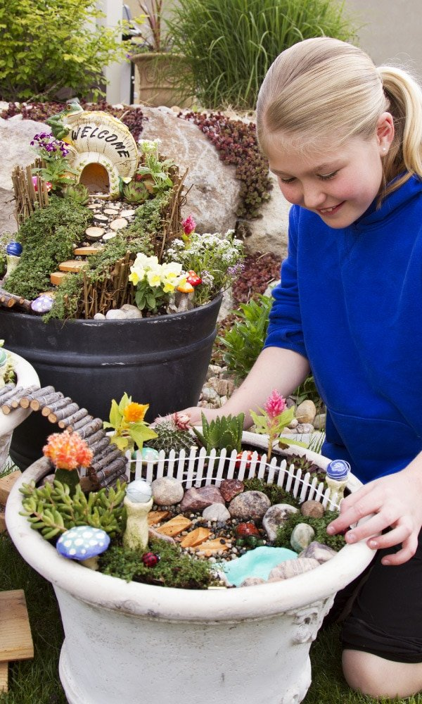 7 Places to Find Inexpensive Fairy Garden Supplies - A Few