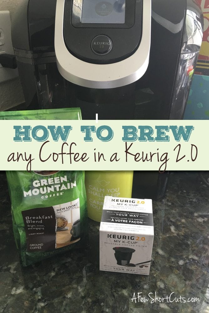 Check out the secret of the universe! Finally, How to Brew ANY Coffee in a Keurig 2.0!!