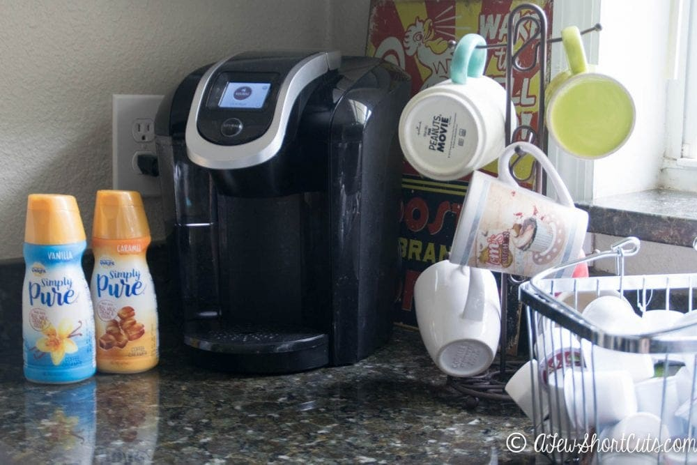 Coffee and Oatmeal in one bowl. Can even be made with a keurig! You have to check out this amazing Caramel Mocha Latte Oatmeal Recipe