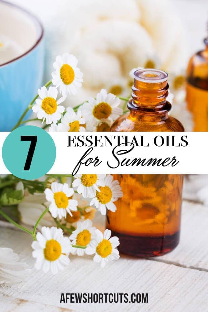 Are you ready to head into summer prepared? Then give these 7 essential oils for summer a try and see how helpful they can be!