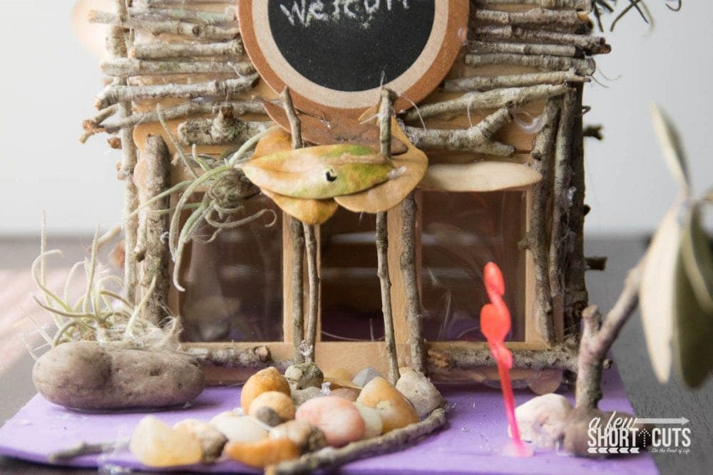 how to make a fairy house - a few shortcuts