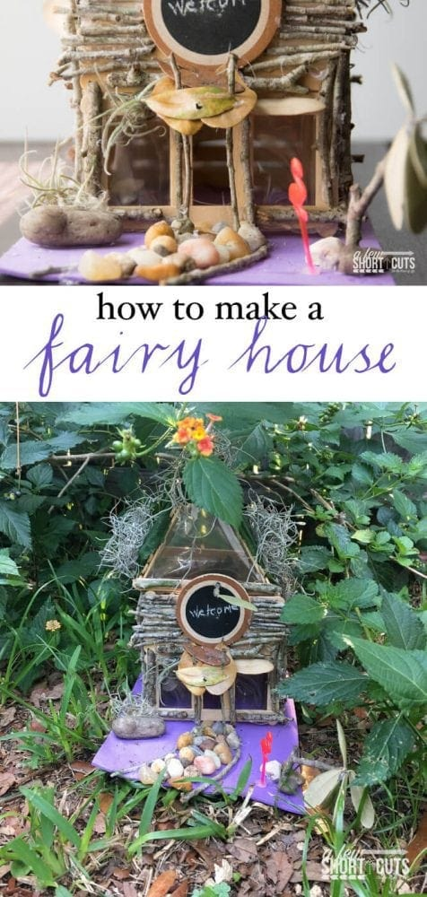 Don't have bored kids this summer. Learn How to Make a Fairy House. This is such a fun and creative craft project.