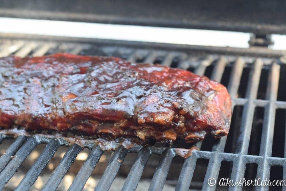 Pull out that grill and get ready for some amazingness! You will lick your fingers clean after you make this Root Beer BBQ Ribs Recipe. These are some of the best ever!