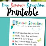 Free-Summer-Screentime-Printable