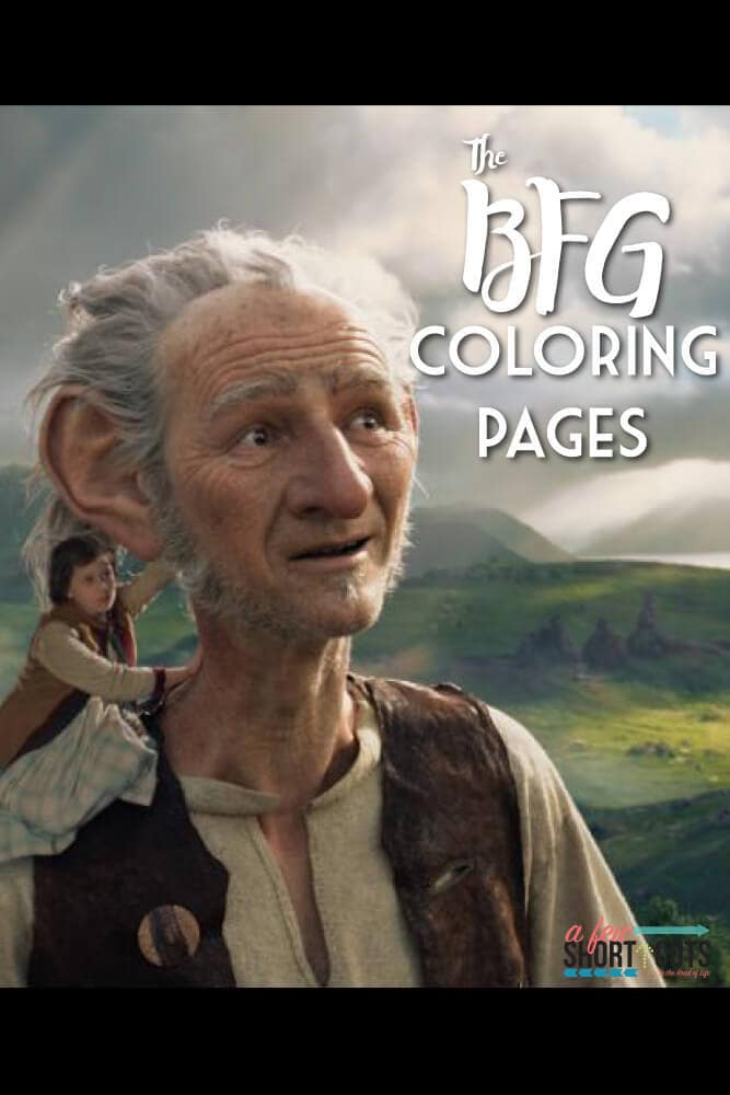 FRE Disney's The BFG Coloring and Activity Pages!