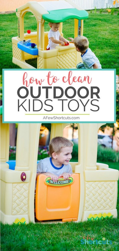 Are you ready to get those outdoor kid's toys looking their best? Find out the best ways to clean outdoor kids toys and get them ready for Summer fun!