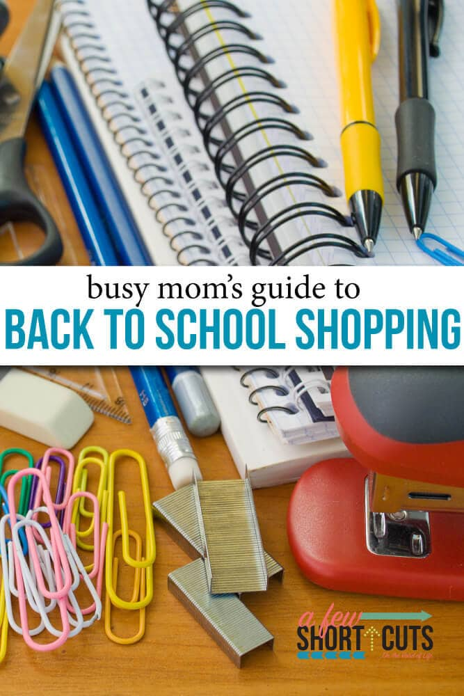Trust me, this busy mom knows how stressful getting ready for back-to-school can be. You've got this. Pick up those lists, get those schedules, and enjoy your kids. Just remember that these tips can see you through another hectic back-to-school shopping season with ease.