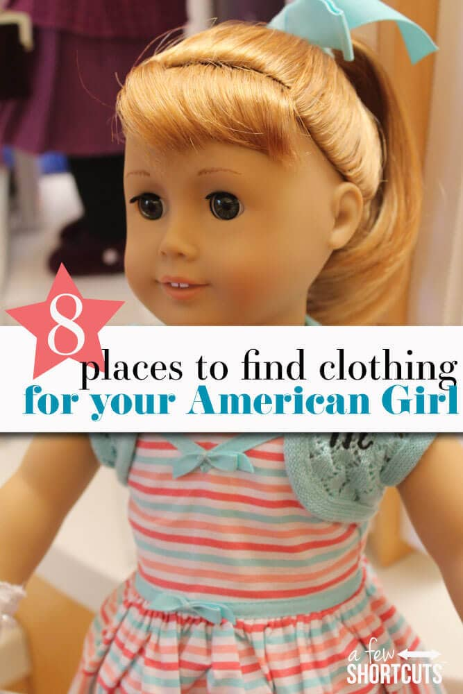 Are you ready to get your American Girl doll all dressed up in the latest styles? Give these tips for places to find clothing for your American Girl doll!
