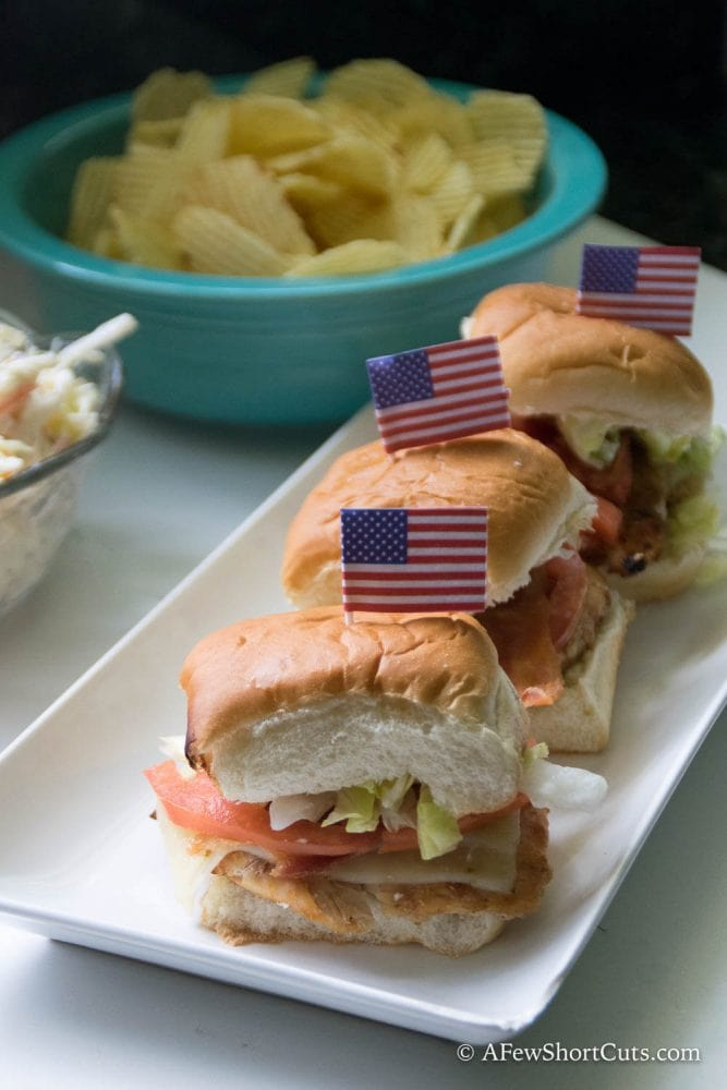 Grilled Chicken Bacon Sliders Recipe — Dishmaps