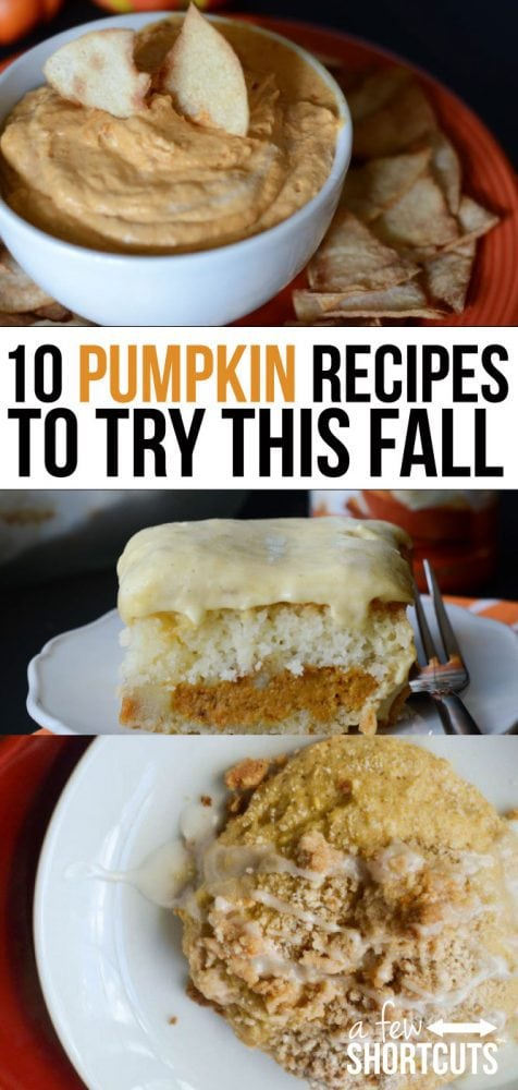 September rolls around, school starts, and the smell of Fall is in the air. Pumpkin flavored everything is starting to pop up everywhere! This fall skip the usual pumpkin spice latte and go for something with a little more pumpkin pizzaz! Check out these 10 positively pleasent pumpkin recipes to try this fall!