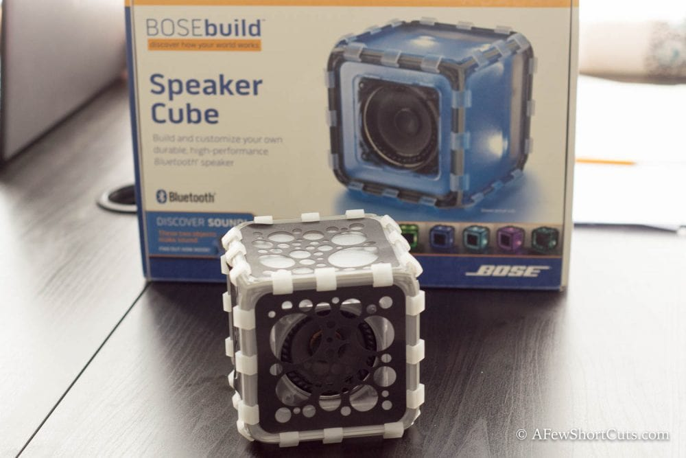 Holiday Gift Idea: BOSEbuild Speaker Cube