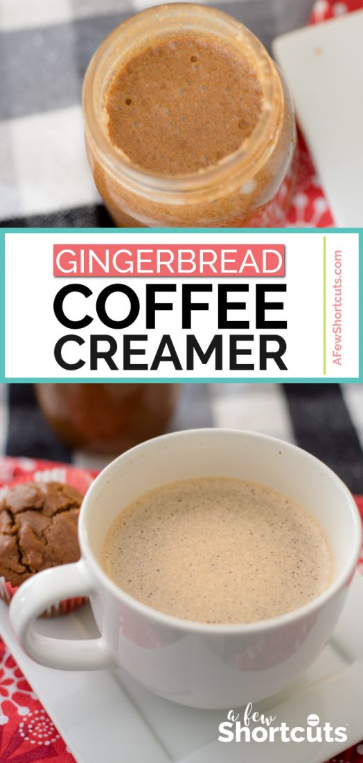 Homemade Gingerbread Coffee Creamer Recipe
