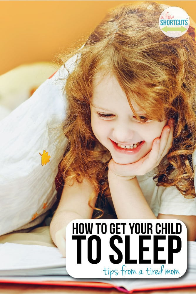 How to get your child to sleep. Tips from a tired mom.