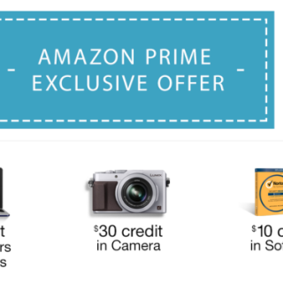 FREE $60 In Credits with Amazon Prime Photo