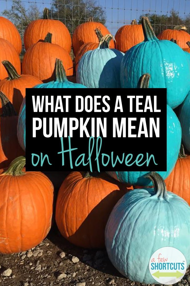Have you seen the teal pumpkins? What does a Teal Pumpkin Mean on Halloween? Why it is so important to those who suffer with food allergies!