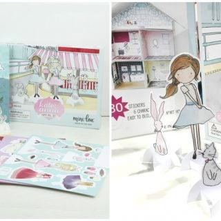 Unique Girl Gift Idea – Design Your Own Fairy Garden Set, Dollhouse Set AND Paper Doll Set Only $34.99 Shipped