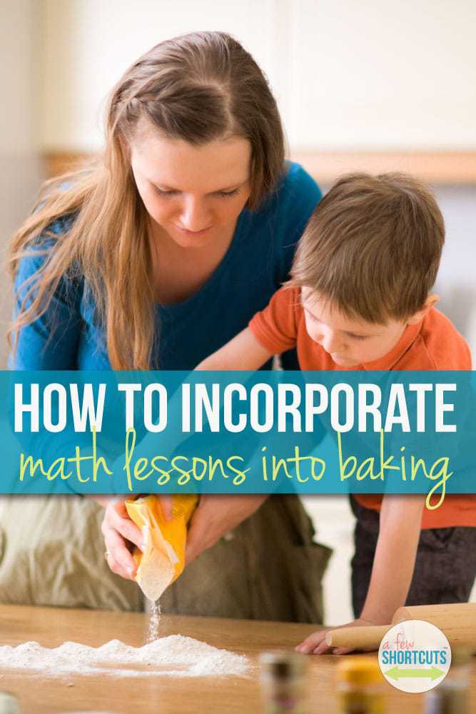 Teaching math while baking or cooking can be fun and easy. Give these ideas for implementing math into baking a try and see what results you can achieve! Great ideas for homeschool or any school!