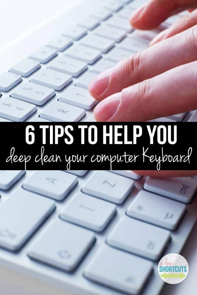 Something you touch everyday but rarely clean. Learn how to deep Clean Your Computer Keyboard to keep it free of grime without ruining your computer.