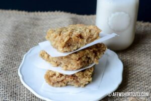Baked Peanut Butter Oatmeal