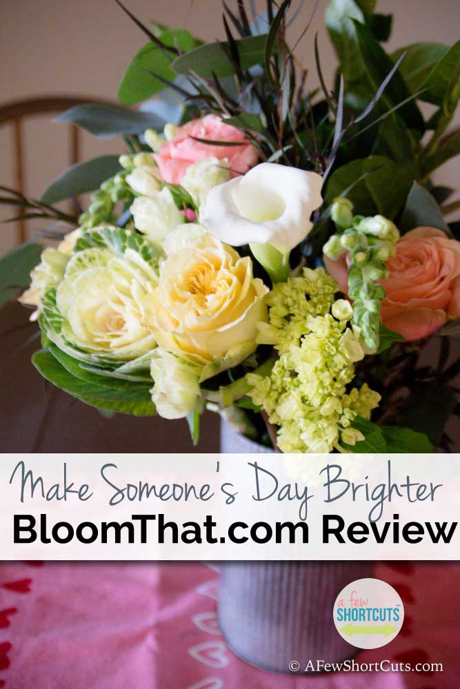 Make someone's day brighter with a bouquet of flowers! Check out my BloomThat.com Review!