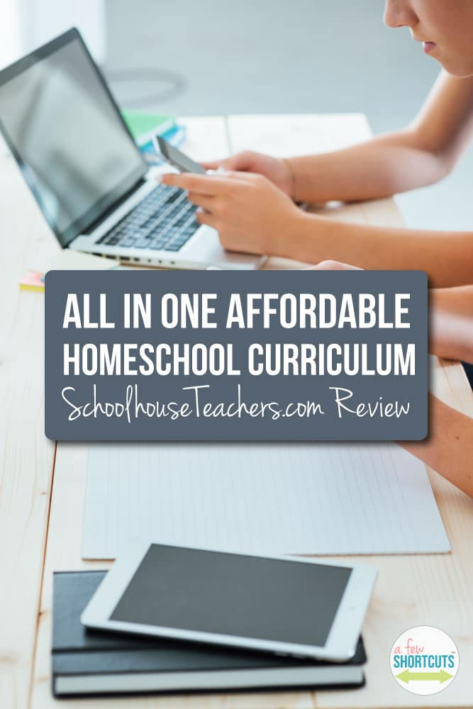 Do you homeschool or do you want to? Check out this All in One Affordable Homeschool Curriculum that is available for Preschool to High School! Read this review on SchoolHouseTeachers.com