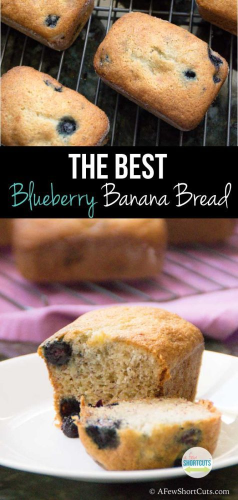 My go to snack lately and possibly The Best Blueberry Banana Bread Recipe around! Can be made gluten free and dairy free too!