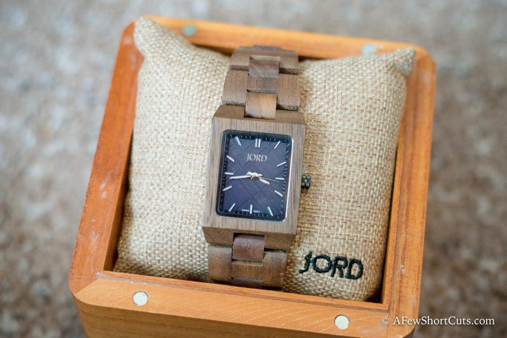Give the Gift of Time - Jord Watch Review