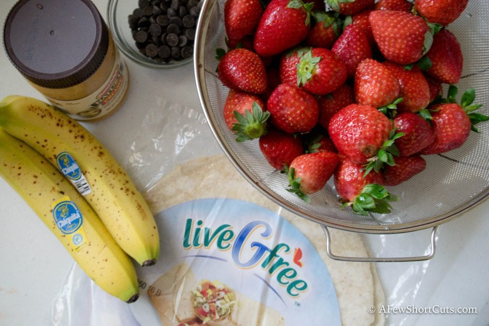 A fun breakfast or an after school snack, either way this yummy Strawberry Banana Quesadillas recipe is a tasty option!