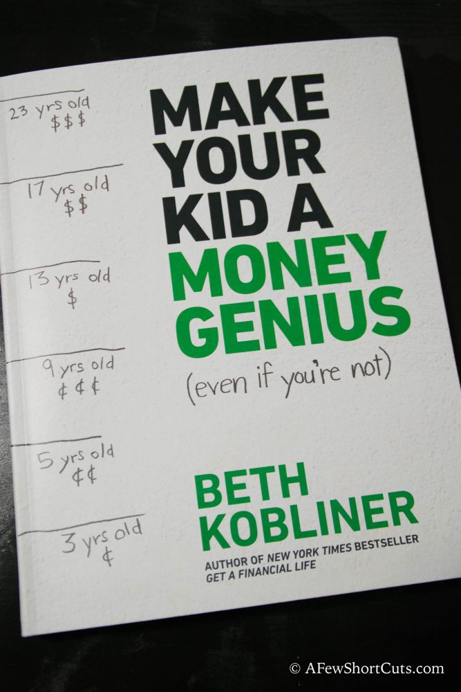 Simple Teachable Moments - Making your kid a money genius #ad